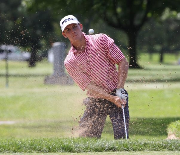 Dunlap executes his game plan, takes Porter Cup lead