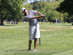 Ben Reichert of East Amherst had the chance to play with some of the best amateur golfers in the business this week at the Porter Cup. (Harry Scull Jr./Buffalo News)