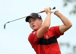 Amateur Jared du Toit played in the final group at last week's RBC Canadian Open at Glen Abbey in Oakville, Ont.